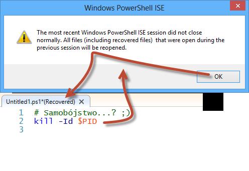 PowerShell-ISE-Pytanie-O-Ostatnie-Pliki