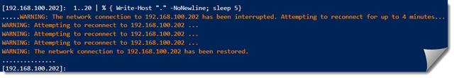 PowerShell-remoting-Reconnecting-Session