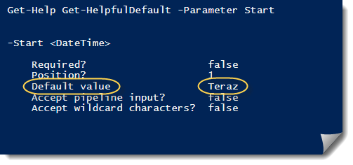 PowerShell-PSDefault-Help-Message