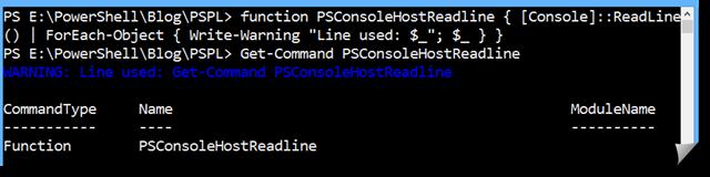 PowerShell-PSConsoleHostReadline