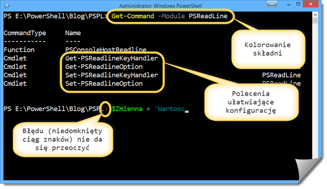 PSReadLine-Podstawowe-Funkcje