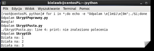 Linux-Problem-z-Shebang-Python