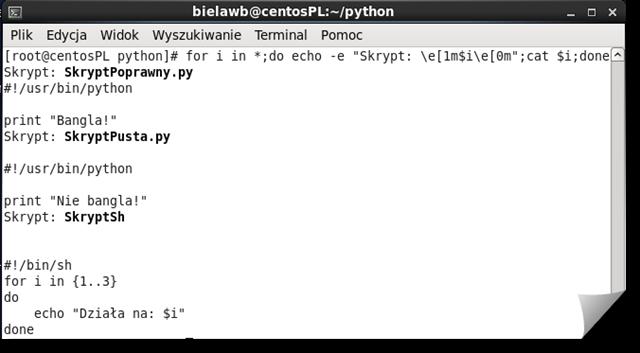 Linux-Trzy-Skrypty-Sh-Python