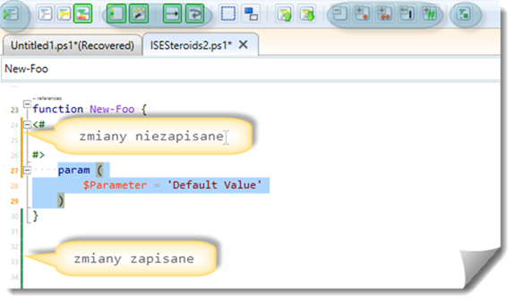 ISESteroids-oznaczanie-formatowanie-kodu